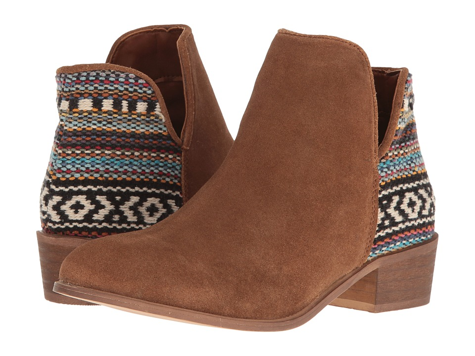 Steve Madden - Arley (Chestnut Suede) Women's Boots