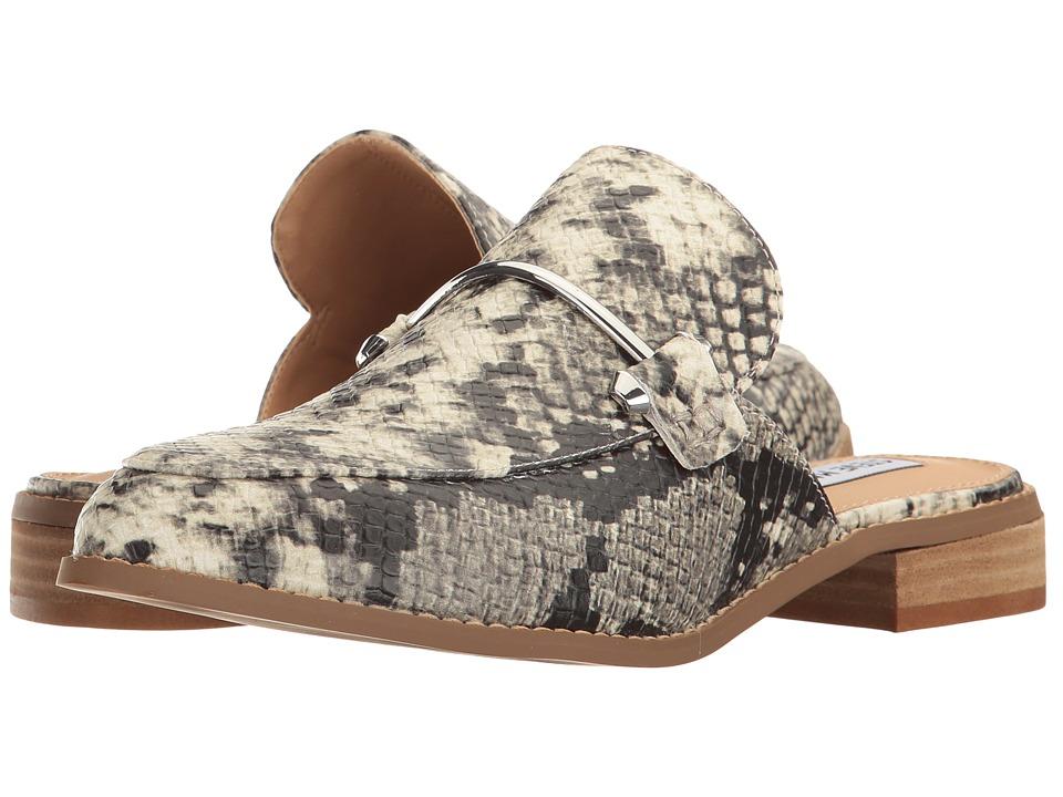 Steve Madden - Laaura (Natural Snake) Women's Slip on Shoes