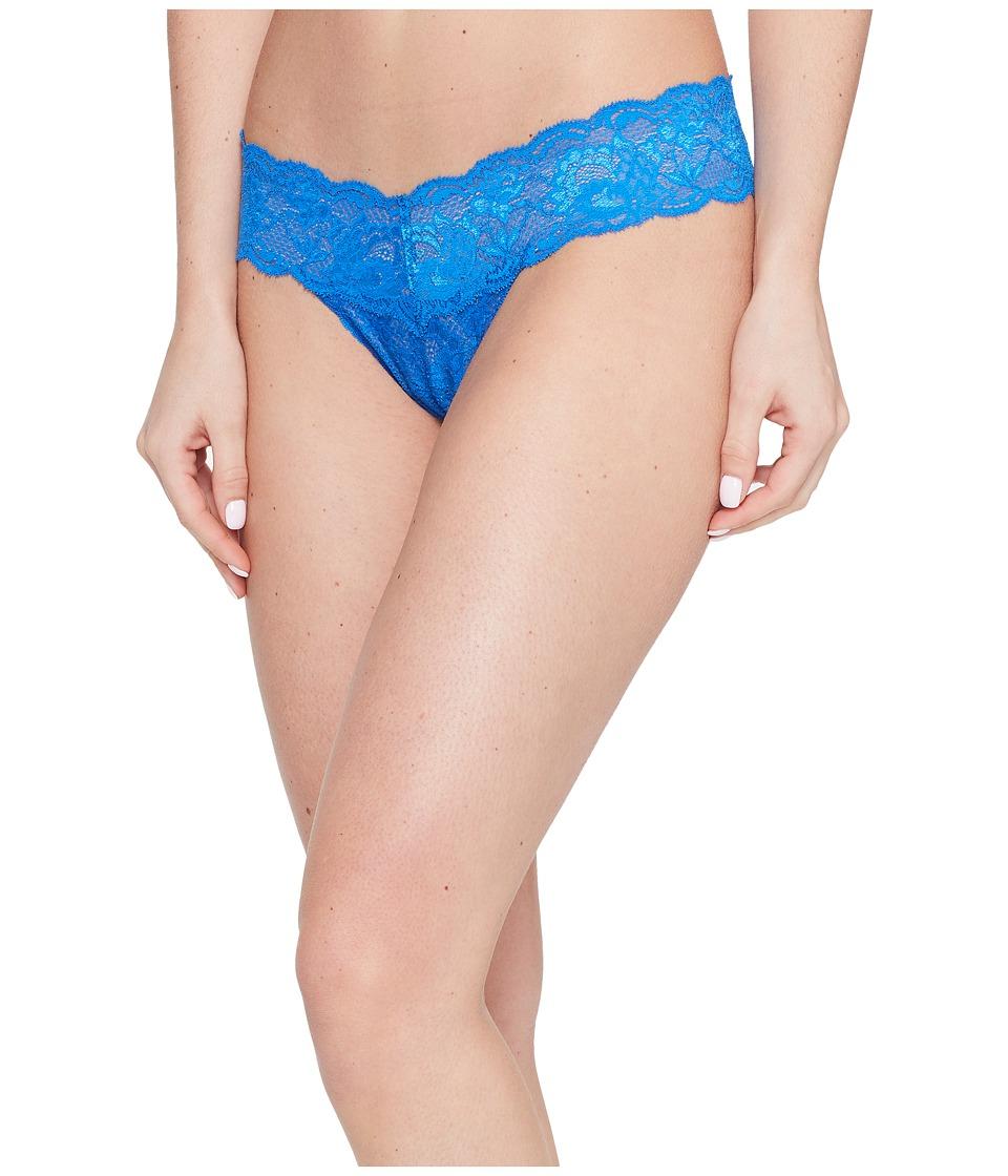 Cosabella - Never Say Never Cutie Lowrider Thong (Blue Lagoon) Women's Underwear