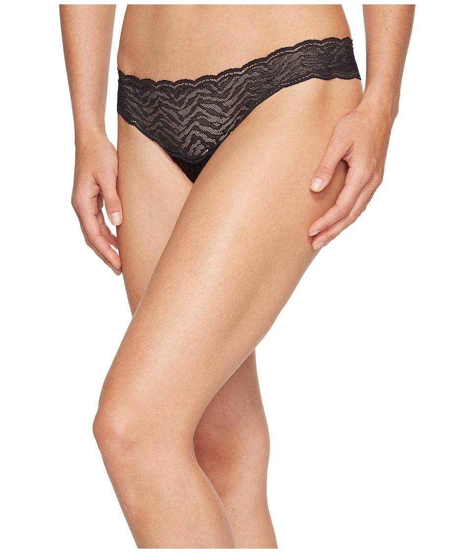 Cosabella - Sweet Treats Zebra Thong (Black) Women's Underwear