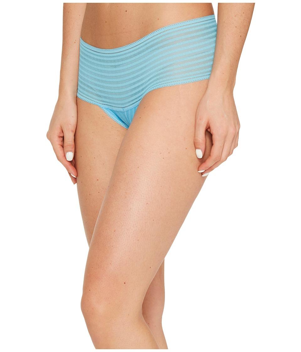 Cosabella - Sweet Treats Zebra Hotpants (Blue Bird) Women's Underwear