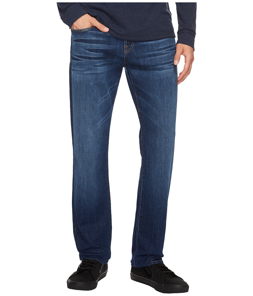 7 For All Mankind The Straight w/ Squiggle Split Seam in Dimension (Dimension) Men