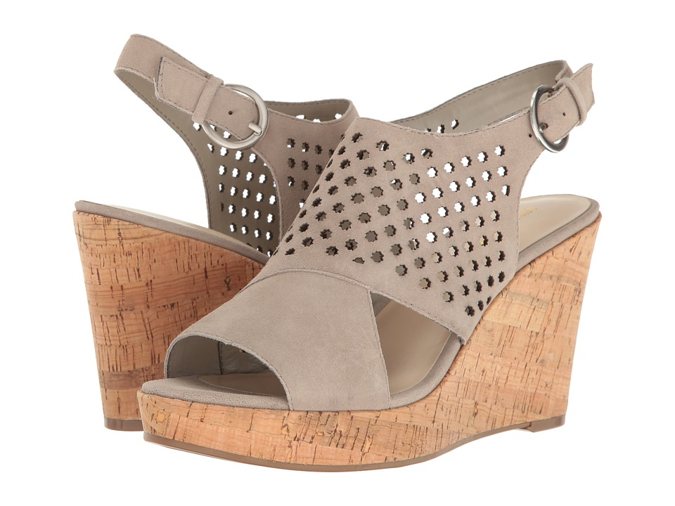 Nine West - Enright (Taupe Suede) Women's Shoes