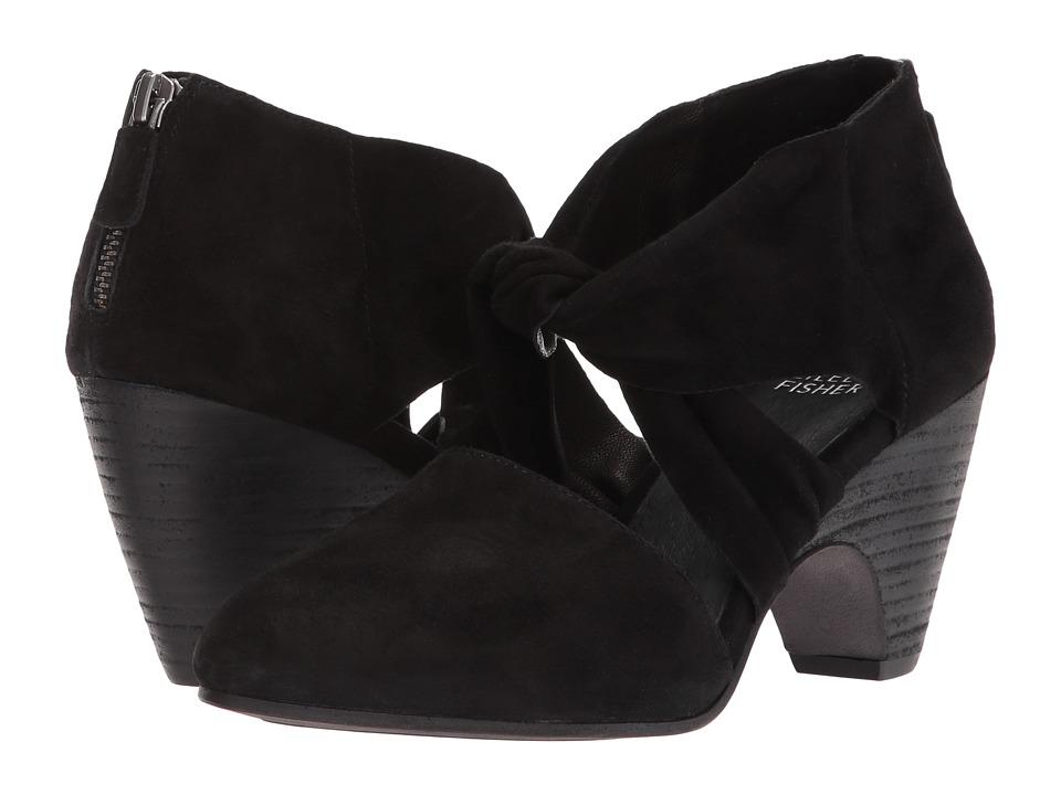 Eileen Fisher Mary (Black Suede) High Heels