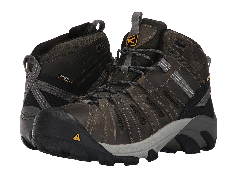 Keen Utility Cody Waterproof Steel Toe (Gargoyle/Forest Night) Men