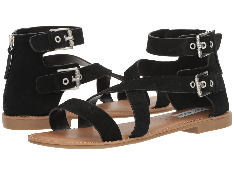 Steve Madden - Penny (Black Suede) Women's Shoes