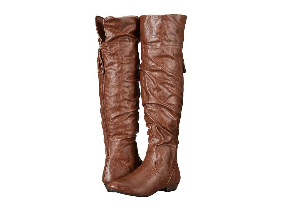 Fergalicious - Rookie (Cognac) Women's Shoes