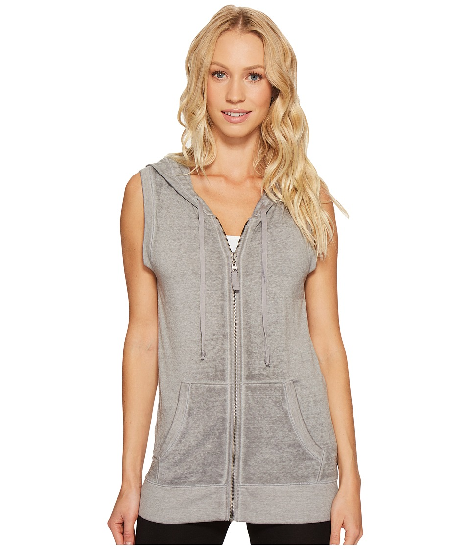 Threads 4 Thought - Ava Hoodie (Heather Steel) Women's Sweatshirt