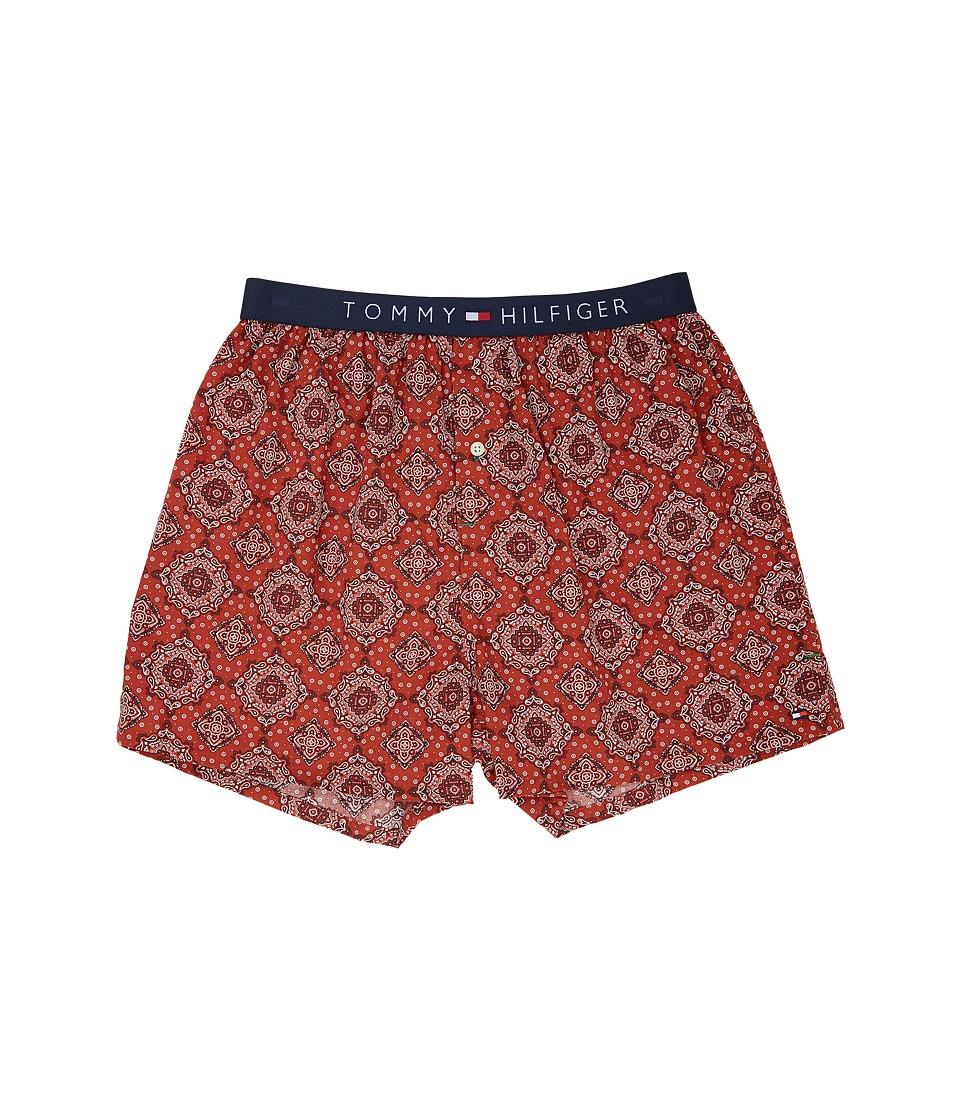 Tommy Hilfiger - Fashion Woven Boxer (Garnet) Men's Underwear