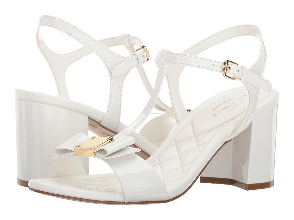 Cole Haan - Genessa Sandal II (Optic White Patent) Women's Sandals