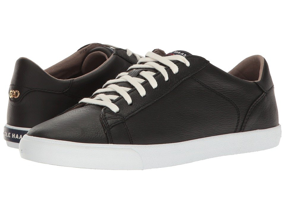 Cole Haan - Trafton Club Court II (Black Leather) Women's Shoes