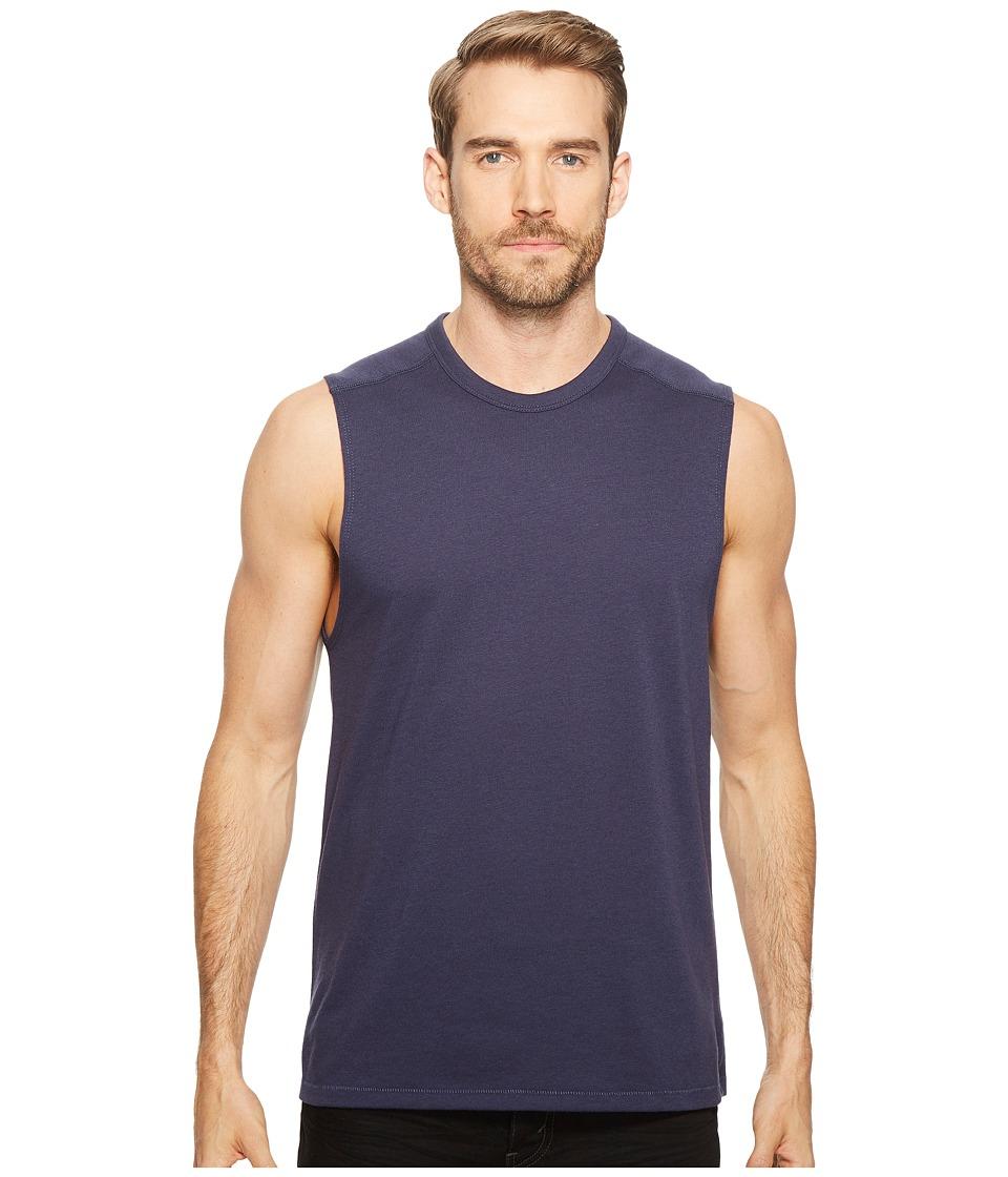 Alternative - Keeper Muscle Tank Top (Navy) Men's Sleeveless