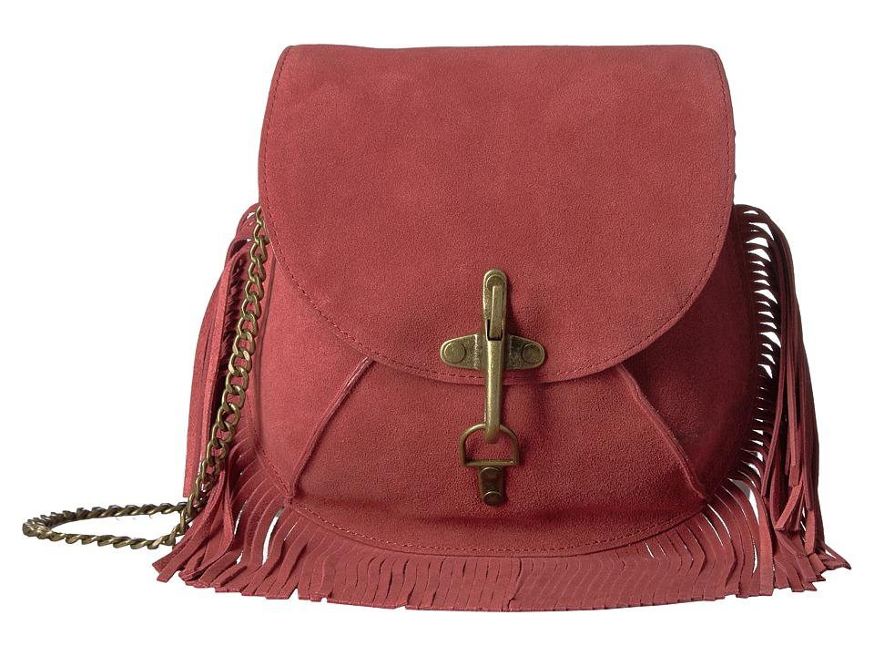 Lucky Brand - Maya Small Crossbody (Rosewood) Cross Body Handbags