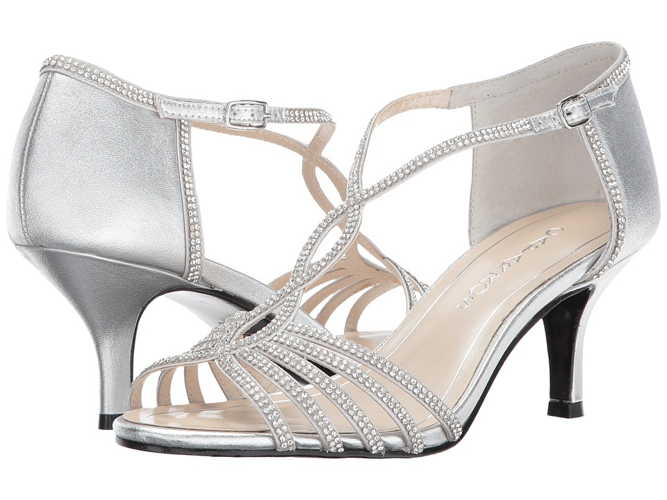 Caparros Jerilyn (Silver Metallic) High Heels