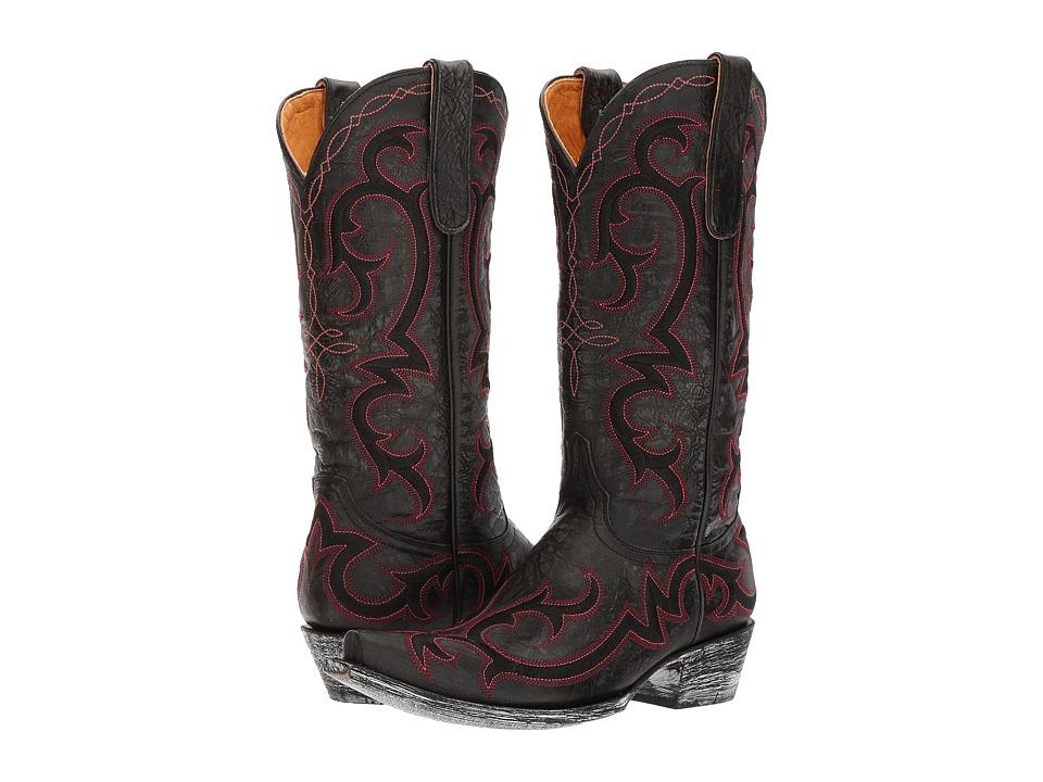 Old Gringo Dolly (Black) Cowboy Boots