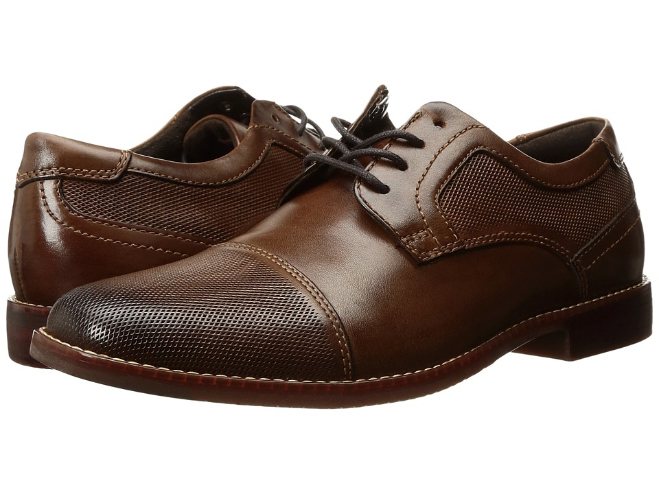 Rockport Style Purpose Perf Cap Toe (Brown Leather) Men