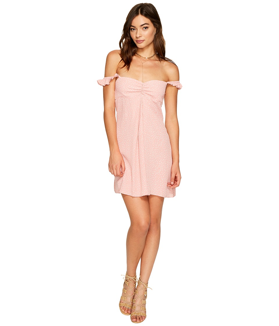 Flynn Skye - Carla Mini Dress (Pink Circle) Women's Dress