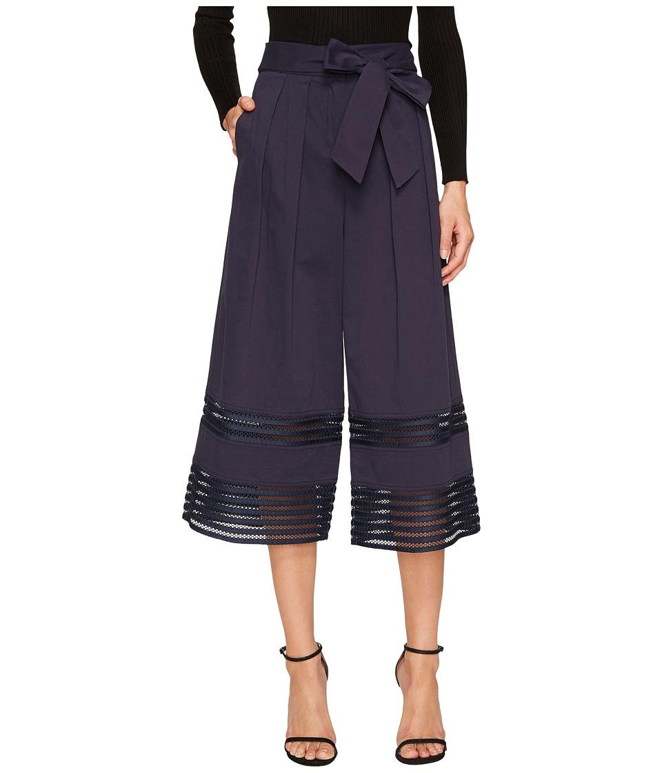 ZAC Zac Posen - Fia Culotte (Navy) Women's Casual Pants