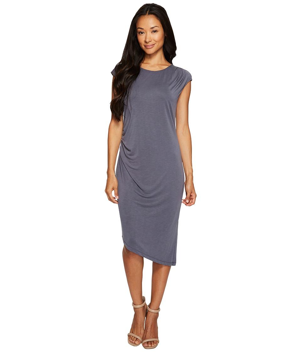 NIC+ZOE - Cloud Nine Dress (Washed Slate) Women's Dress