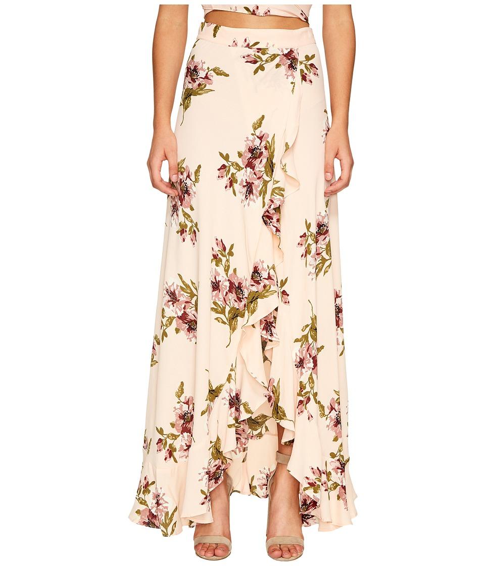 Flynn Skye - Monica Maxi Skirt (Blush Gatherings) Women's Skirt