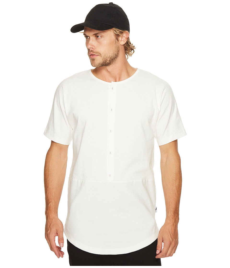 Publish - Kristopher Henley T-Shirt (White) Men's T Shirt