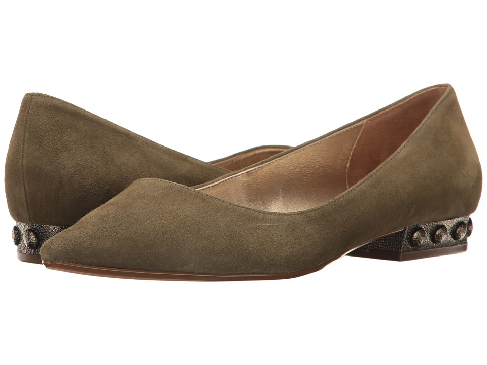 Nina - Zenith (Olive) Women's Flat Shoes