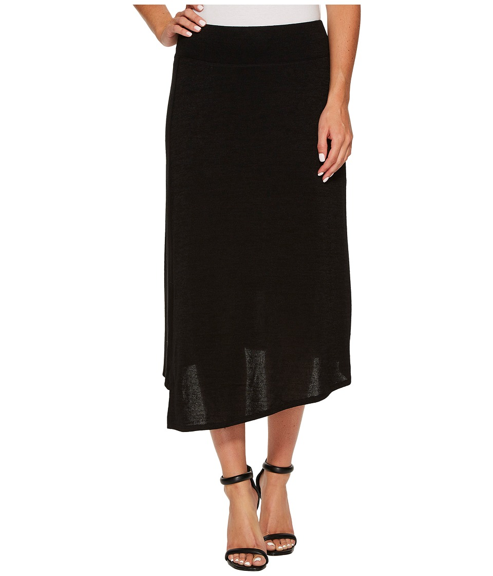 NIC+ZOE Every Occasion Wrap Skirt (Black Onyx) Women