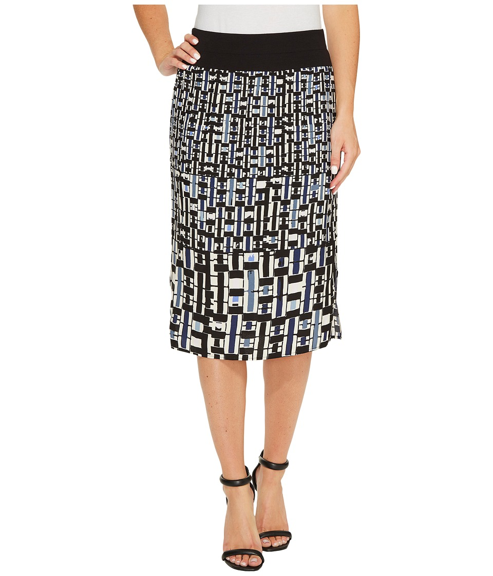 NIC+ZOE - Check Mix Skirt (Multi) Women's Skirt