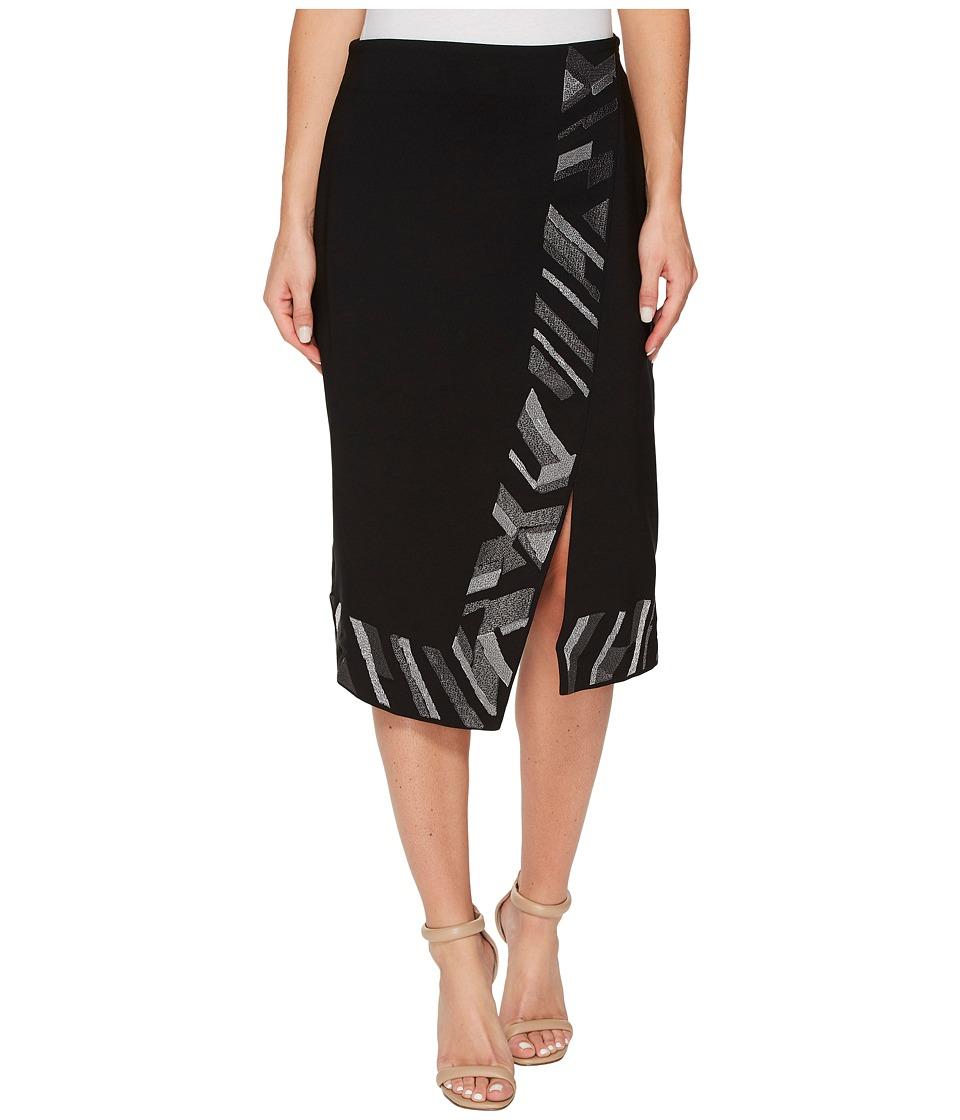 NIC+ZOE Trimmed Time Skirt (Multi) Women