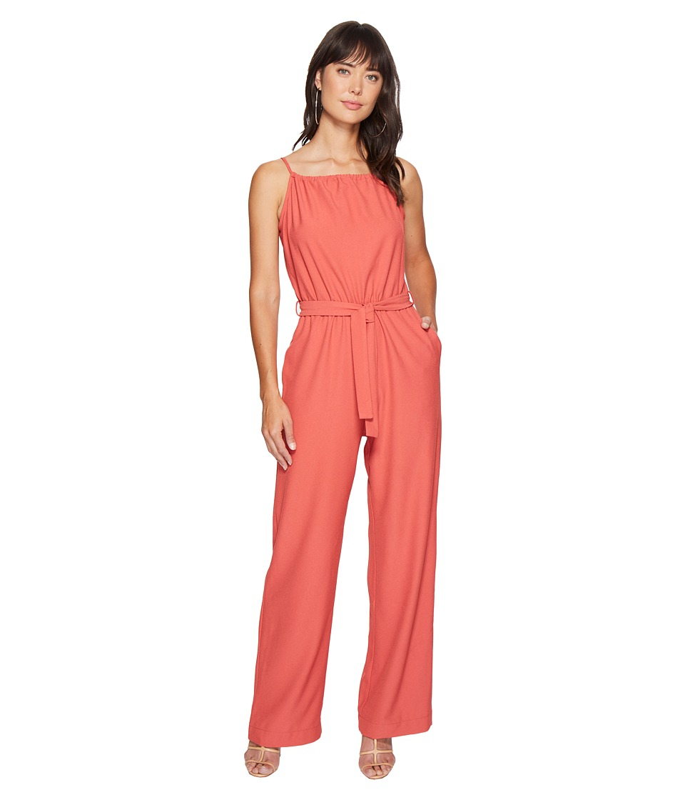 Bishop + Young - Belted Jumper (Rose) Women's Jumpsuit & Rompers One Piece