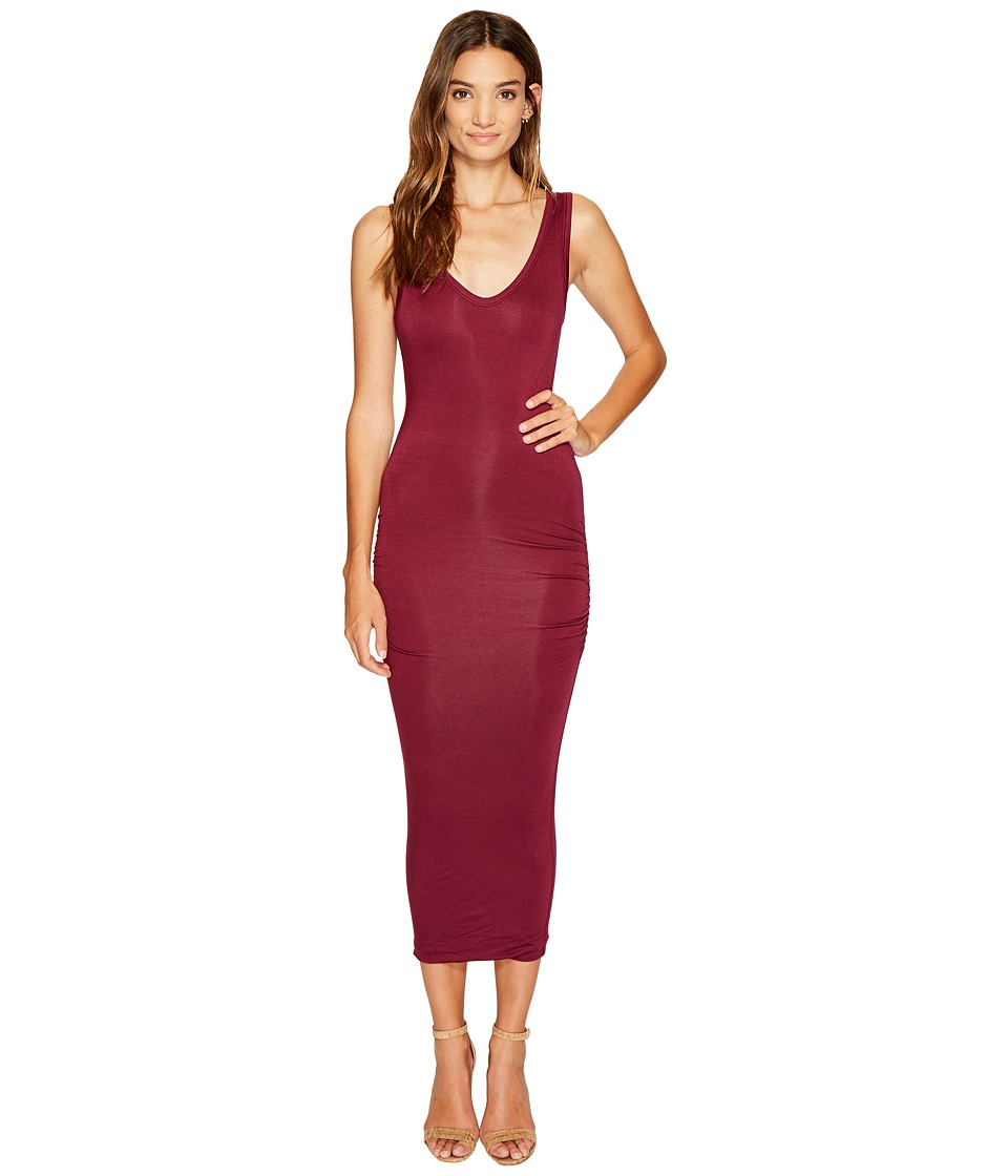 Bishop + Young - Alba Midi Dress (Mauve) Women's Dress
