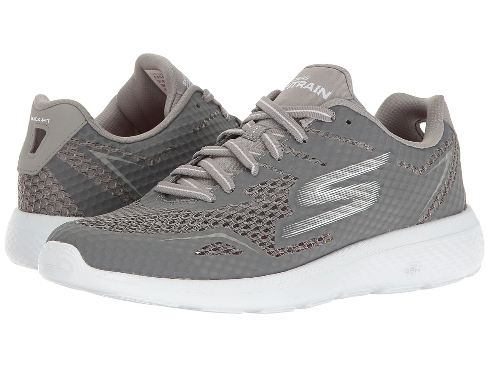 SKECHERS Performance Go Train City Assert (Gray) Women