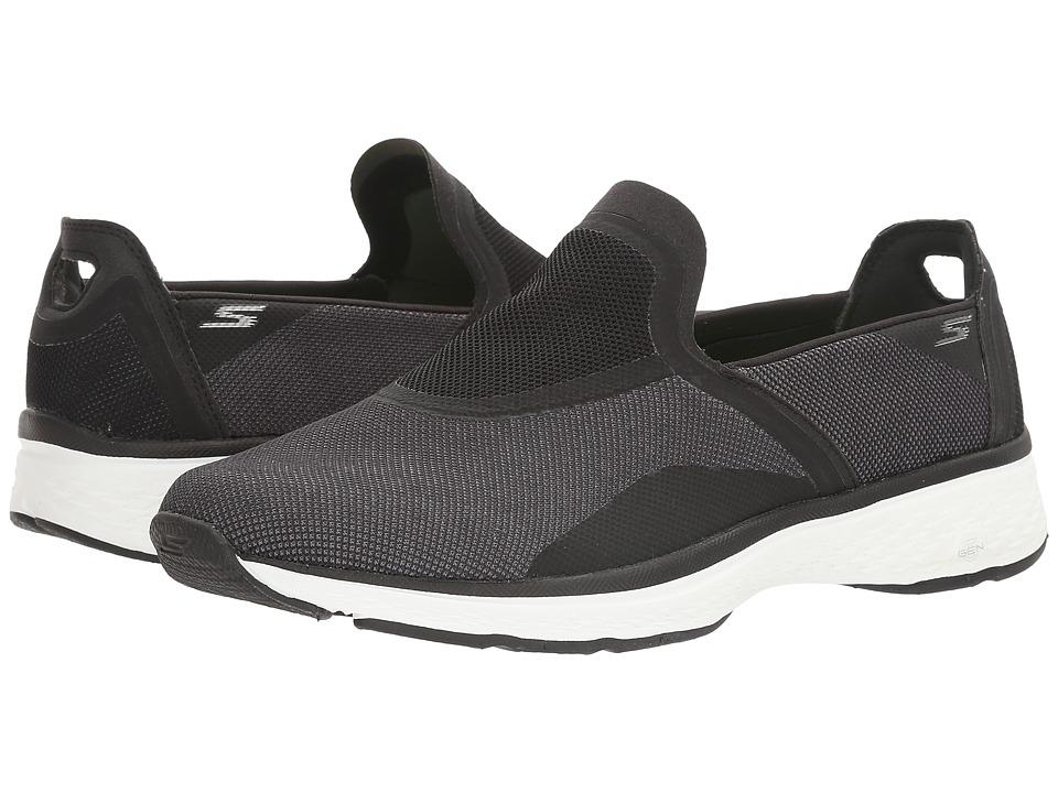 SKECHERS Performance - Go Walk Sport - Refresh (Black/White) Men's Shoes