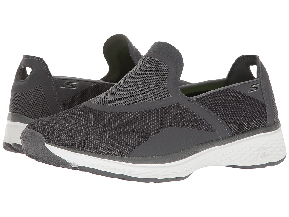 SKECHERS Performance - Go Walk Sport - Refresh (Charcoal) Men's Shoes