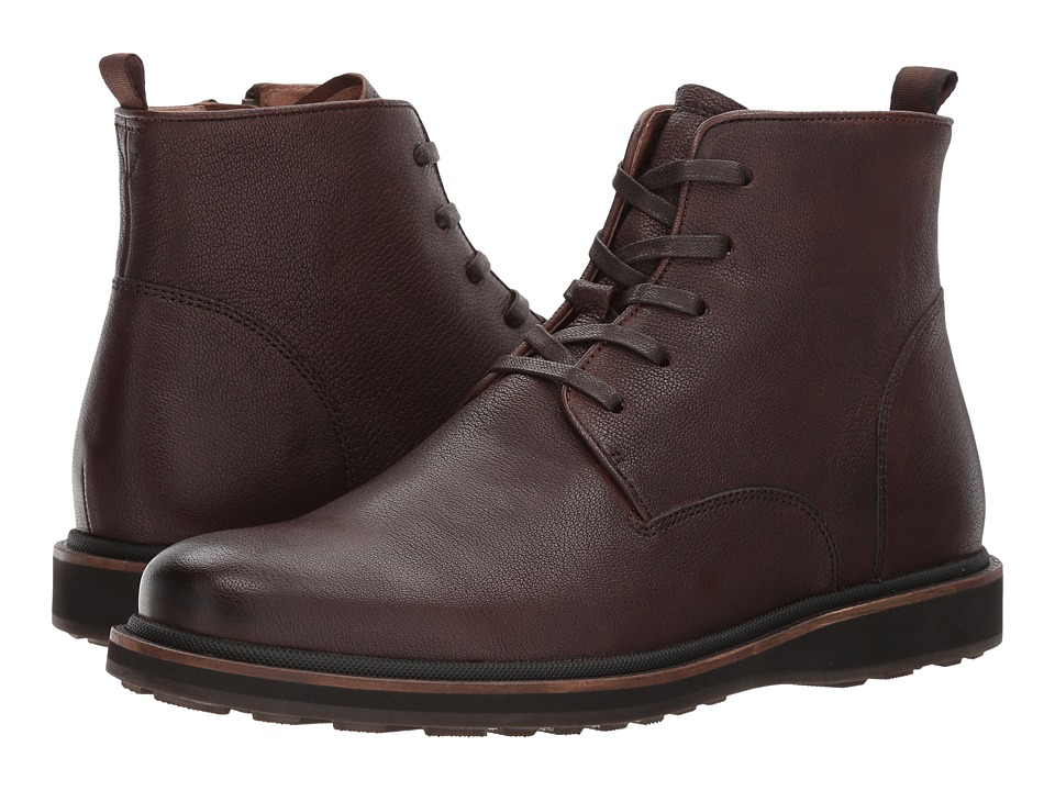 John Varvatos - Brooklyn Lug Boot (Nutmeg) Men's Shoes