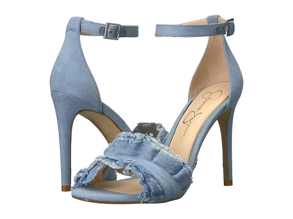 Jessica Simpson - Silea (Vintage Blue Denim) High Heels