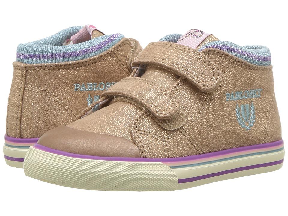 Pablosky Kids 9445 (Toddler/Little Kid) (Beige) Girl