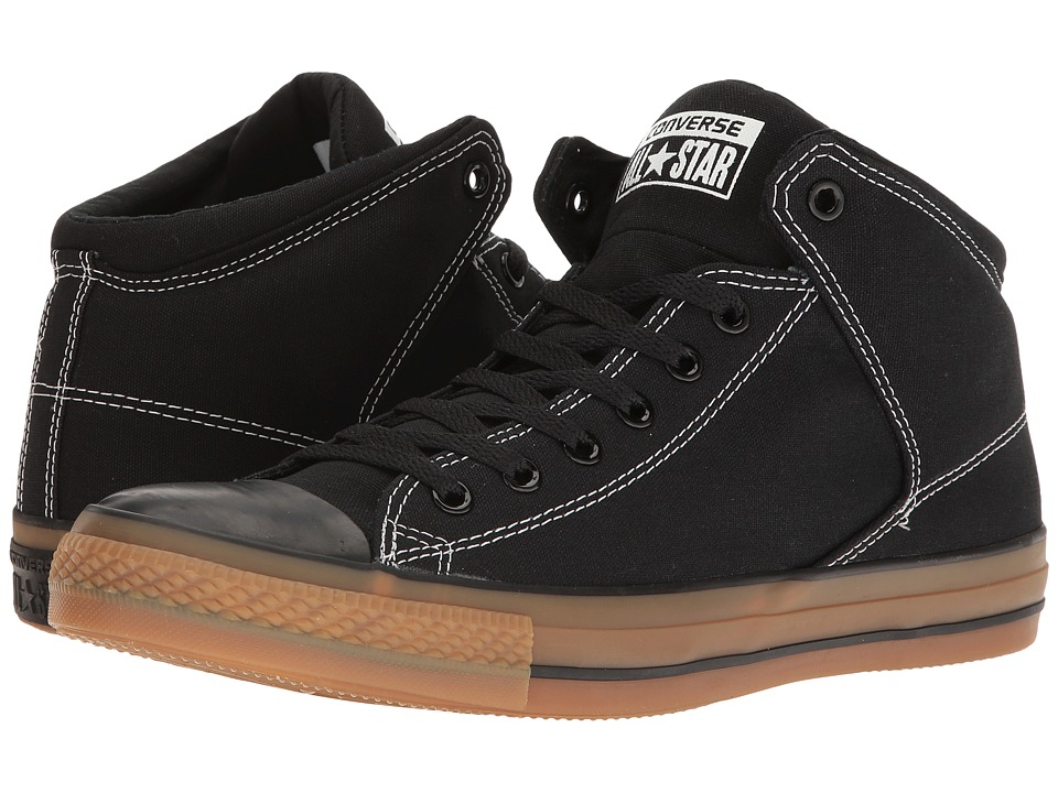 Converse - Chuck Taylor All Star High Street Hi (Black/Black) Lace up casual Shoes