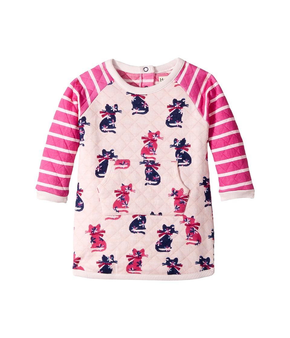Hatley Kids Elegant Kitty Mini Quilted Kanga Dress (Infant) (Pink) Girl