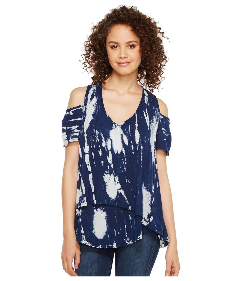 XCVI - Ares Top (Niebla Wash Navy) Women's Clothing