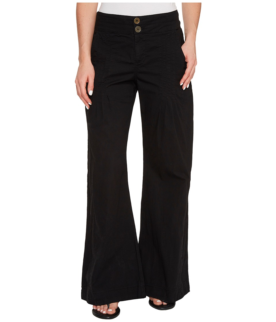 XCVI - Rebecca Pants in Stretch Poplin (Black) Women's Casual Pants