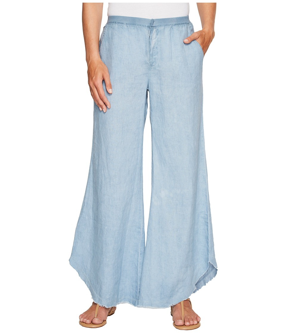 XCVI - Linen Kenzo Pants (Cold Wash Blue) Women's Casual Pants