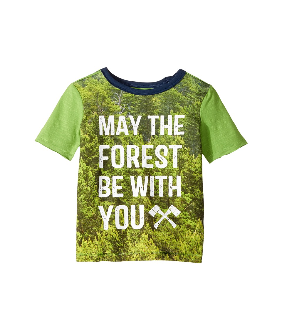 Hatley Kids - May the Forest Be with You Short Sleeve Tee (Toddler/Little Kids/Big Kids) (Green) Boy's T Shirt