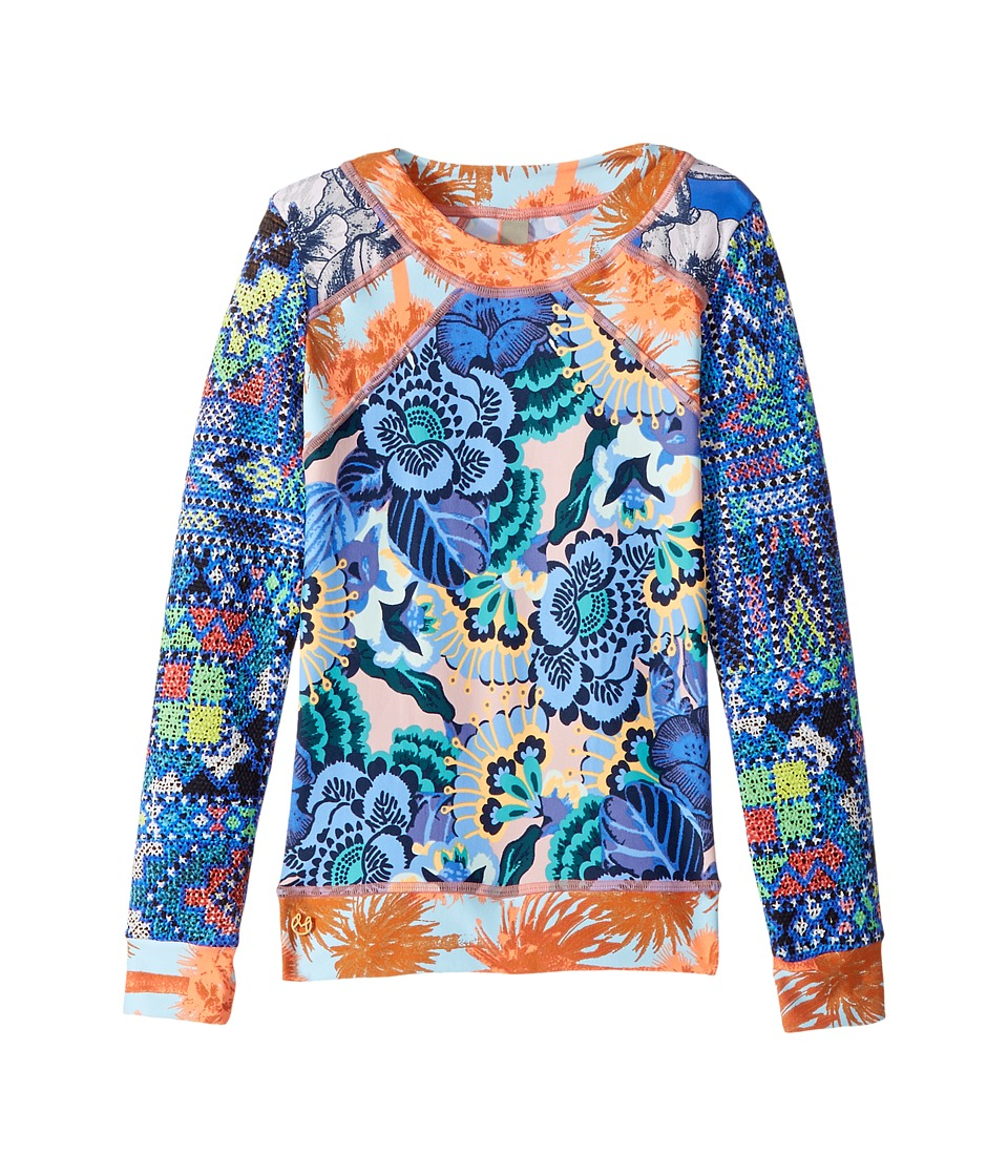 Maaji Kids Ferry Ride Rashguard (Toddler/Little Kids/Big Kids) (Blue) Girl