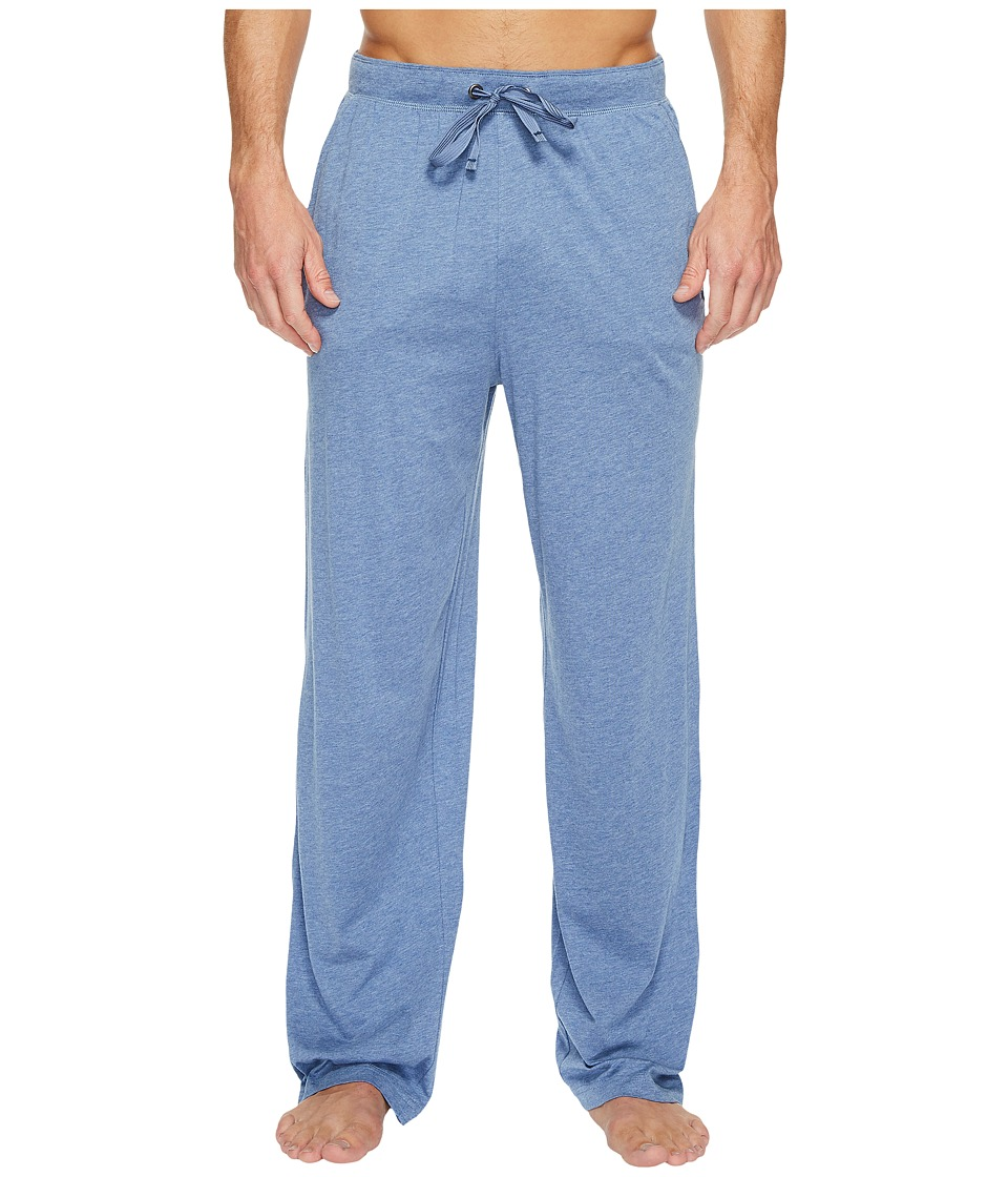 Tommy Bahama - Heather Cotton Modal Jersey Lounge Pants (Denim Heather) Men's Pajama