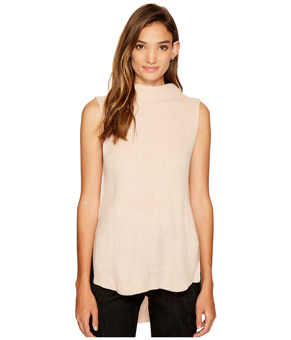 Bishop + Young - Gemma Mock Neck (Pink) Women's Clothing
