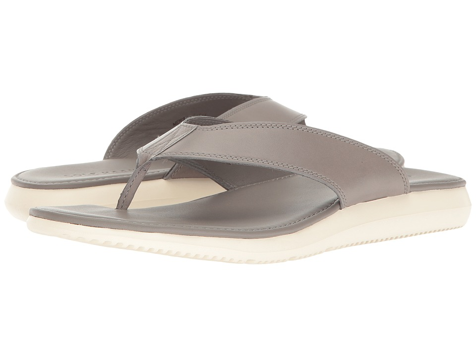 Cole Haan Bristol Leather Sandal (Grey Leather) Men