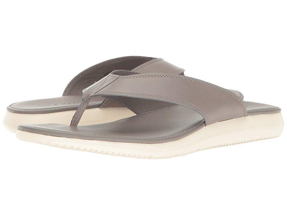 Cole Haan - Bristol Leather Sandal (Grey Leather) Men's Sandals