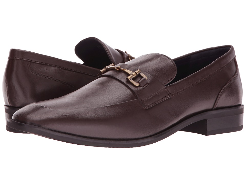 Cole Haan - Martino Bit II (Dark Brown) Men's Shoes