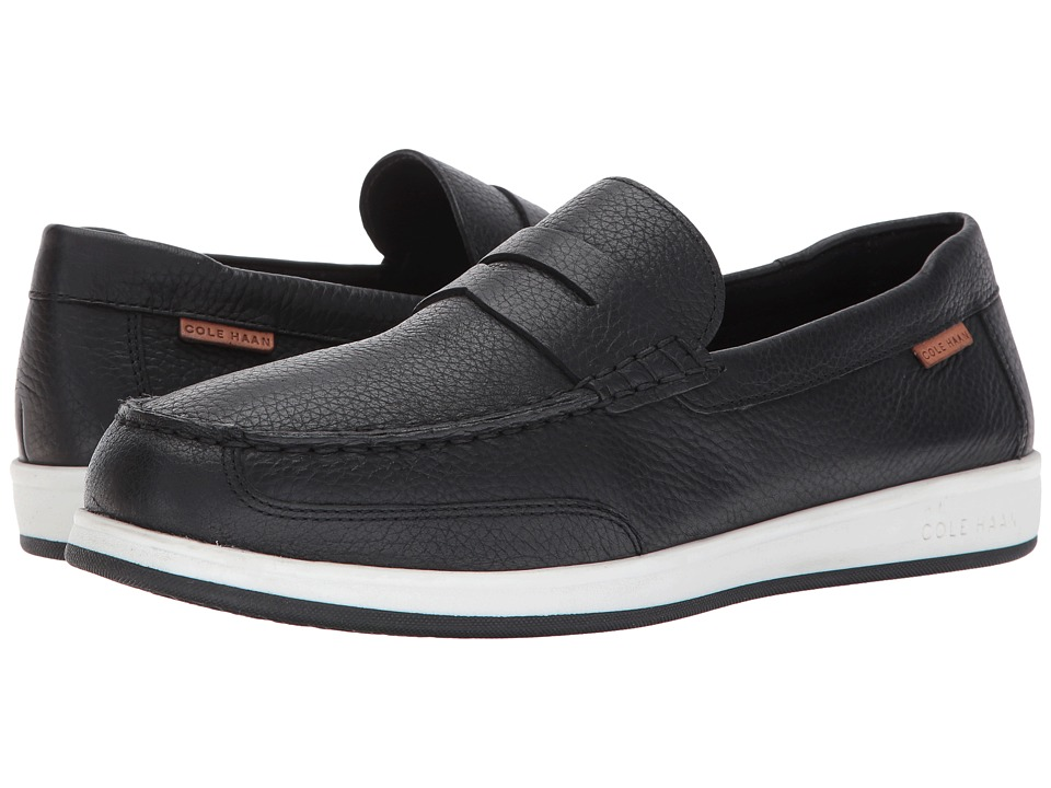 Cole Haan Ellsworth Penny II (Black Tumble) Men
